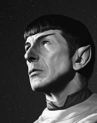 Spock by bronze-dragonrider