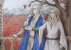 King and Prince of the Woodland Realm by AnotherStranger-Me
