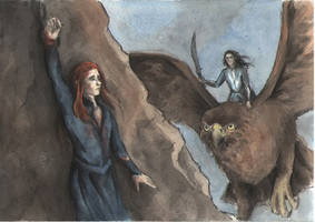 The rescue of Maedhros by AnotherStranger-Me