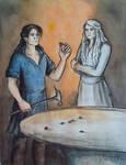 Celebrimbor and Annatar