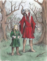 A walk in Mirkwood by AnotherStranger-Me