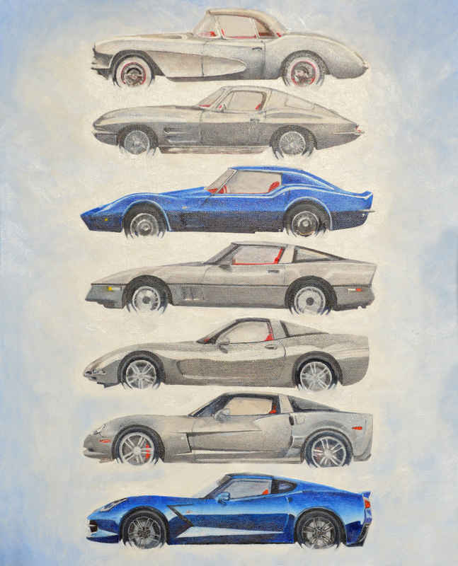 Corvettes by Scipioblack
