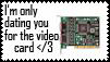 Only Date You For the Vid Card by StampyJazzy