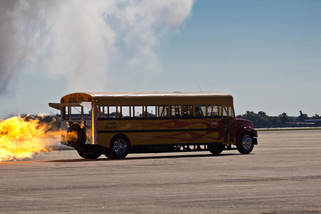 Jet Powered School Bus By Uscty On Deviantart