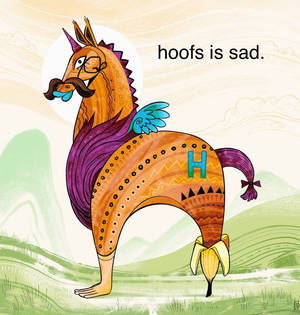 Hoofs is cute.