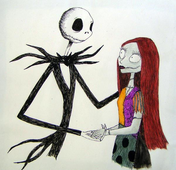 Jack And Sally By DelusionalAsylum On DeviantART