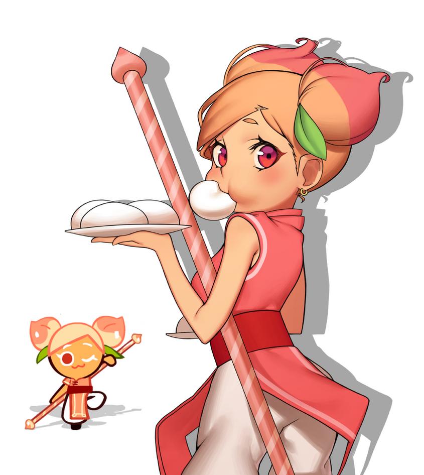 Peach cookie by HoodK