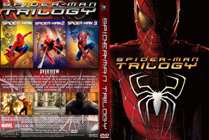 Spider-man Trilogy Custom DVD Cover by ultima-lord