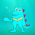 Totodile by ultima-lord