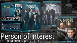 Person of Interest Custom DVD Cover Pack