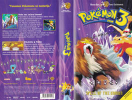 Pokemon the Movie 3 Croatian VHS by ultima-lord