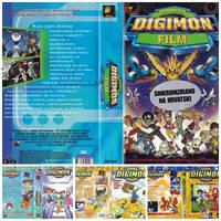 Digimon Srpski/Hrvatski VHS/DVD Omoti by ultima-lord