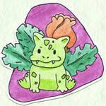 Poke-Sticker#4a Ivysaur (Shiny)