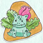 Poke-Sticker#4b Ivysaur (Regular)