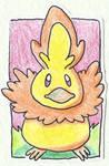 Poke-Sticker#7 Torchic (Shiny)