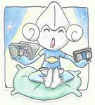Poke-Sticker#8 Meditite
