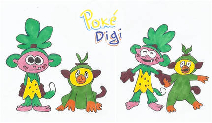 Poke-Digi Friends#2 - Koemon n Grookey