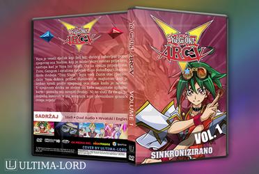 Yu-Gi-Oh! Arc-V Hrvatska DVD Omotnica