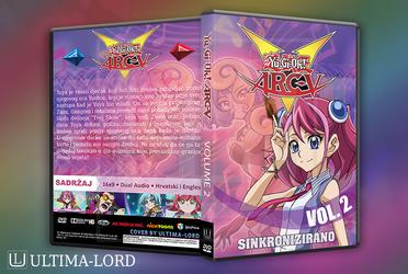 Yu-Gi-Oh! Arc-V Hrvatska DVD Omotnica VOL2