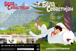 Bela i Sebastiajn (2018) Srpski DVD Omot