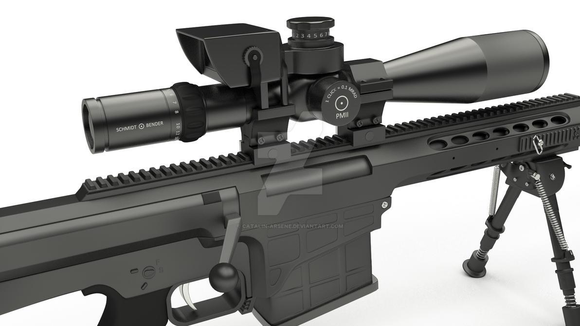 Barrett M98b Modified By Catalin Arsene On Deviantart