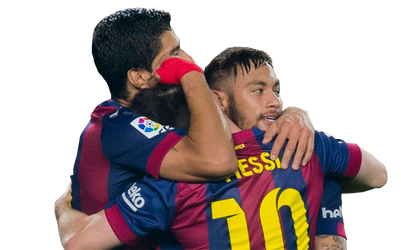 Messi, Suarez y Neymar (MSN) Tridente FC Barcelona