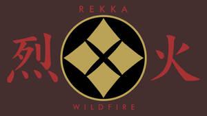 Rekka/Wildfire Crest Wallpaper