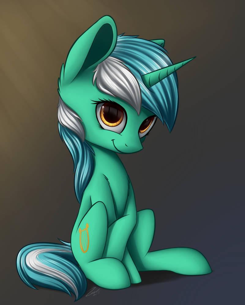 Lyra Heartstrings by DeltauraArt