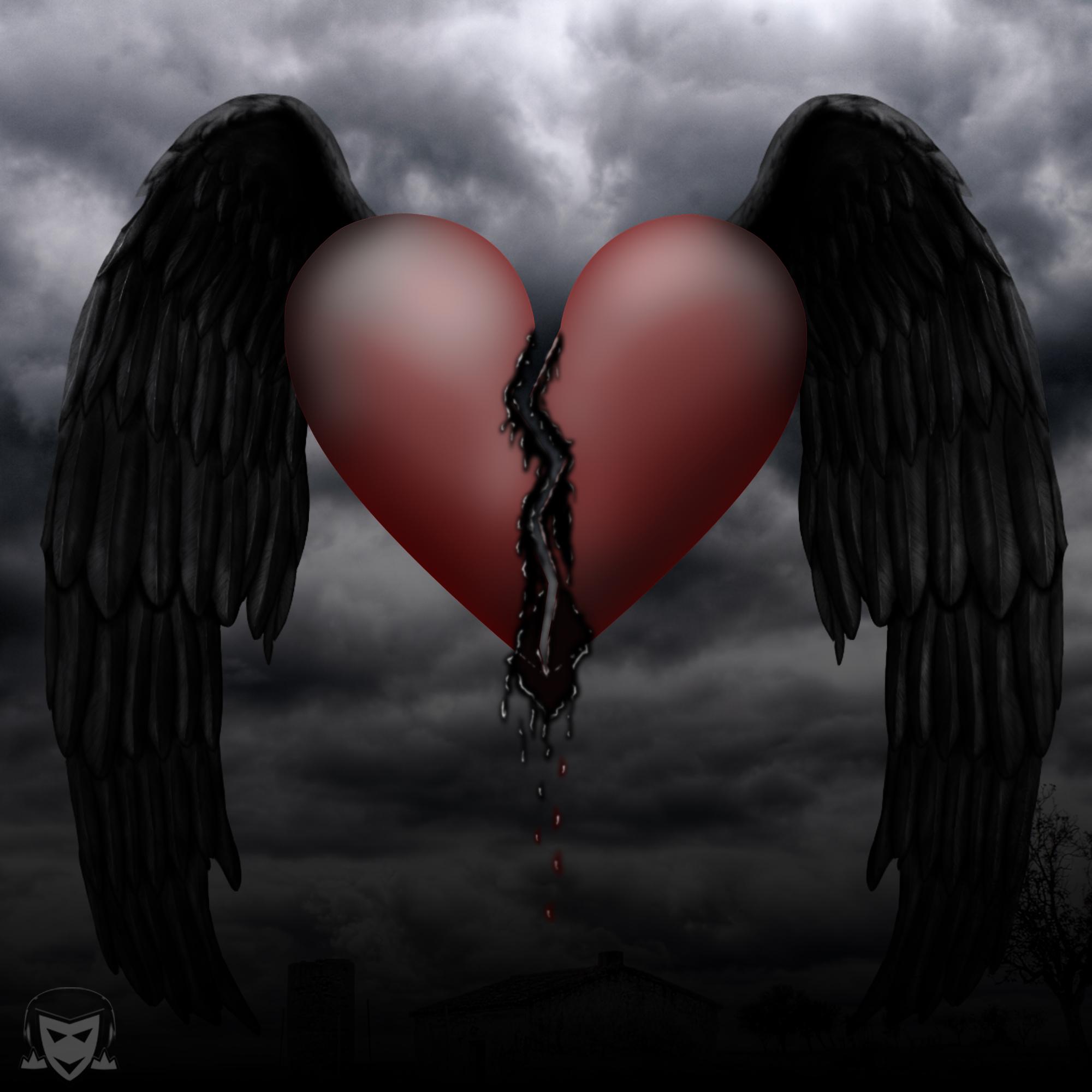 Dark heart by szopian on DeviantArt