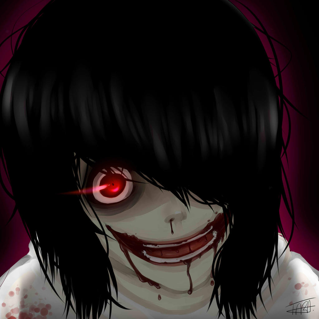Jeff the Killer - Bloody Mess by HueLux on DeviantArt