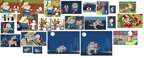 Episode 2 KBSD ( and bit bonus back to Ep.1 ) by Art-in-heart4va
