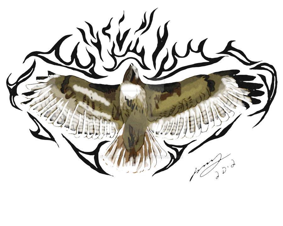 hawk tattoo design by whitewolfheathen on deviantart
