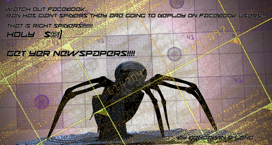Irans war with Facebook.... Spider Army.... BWA HA by Whitewolfheathen