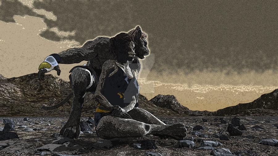 Lion1 Ed by Whitewolfheathen