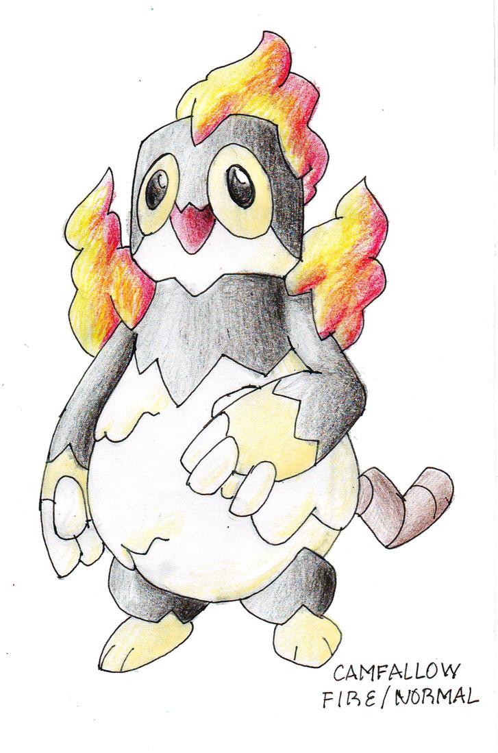 Fake Pokemon: Camfallow by darksilvania