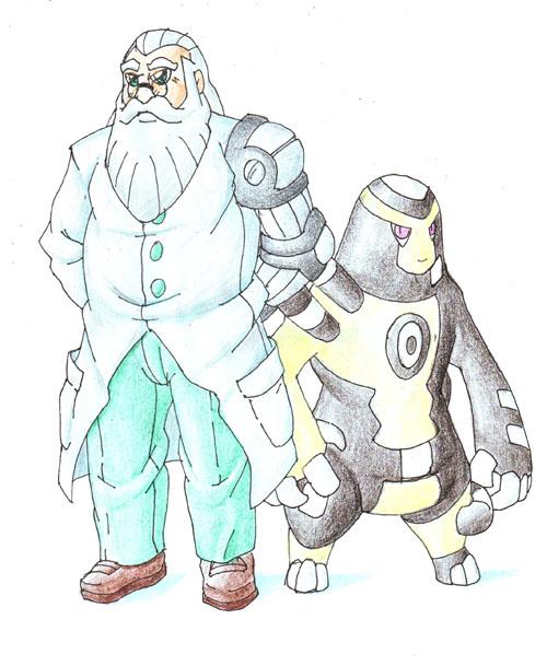 Professor Parcel by darksilvania