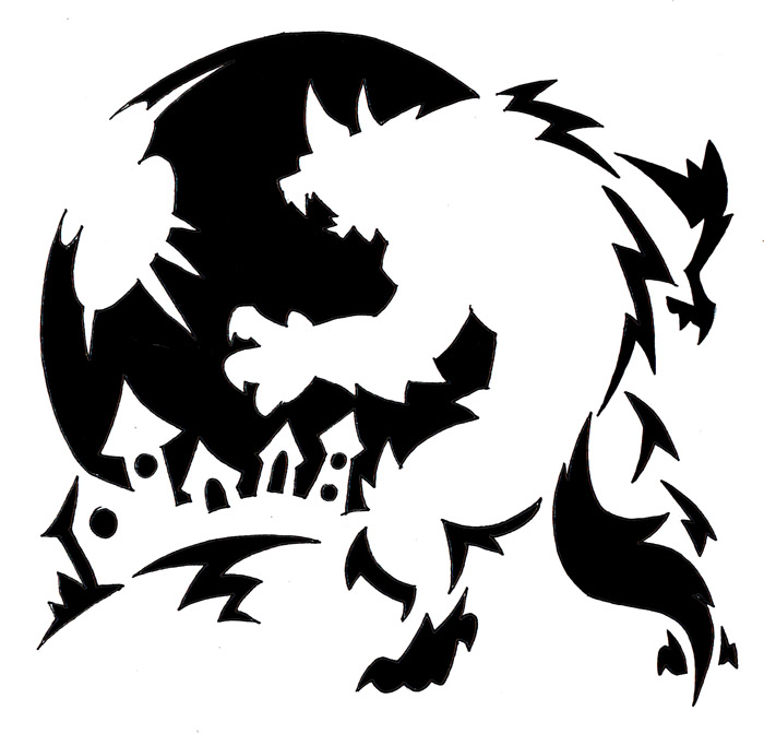 Werewolf Carving Template By Darksilvania On Deviantart