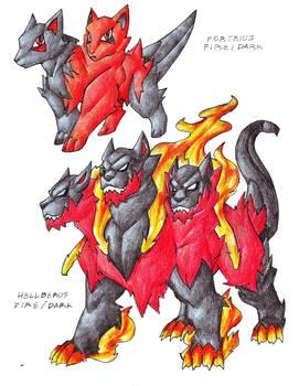 Hellfire Dogs V.2.0 -SOLD-