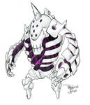 Bone Golem -SOLD- by Darksilvania