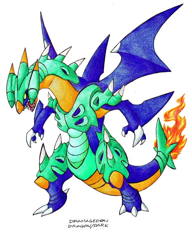 Mega Charizard X And Y Fusion