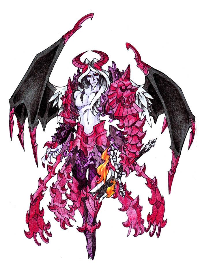 7 princes of hell lucifer by darksilvania on deviantart