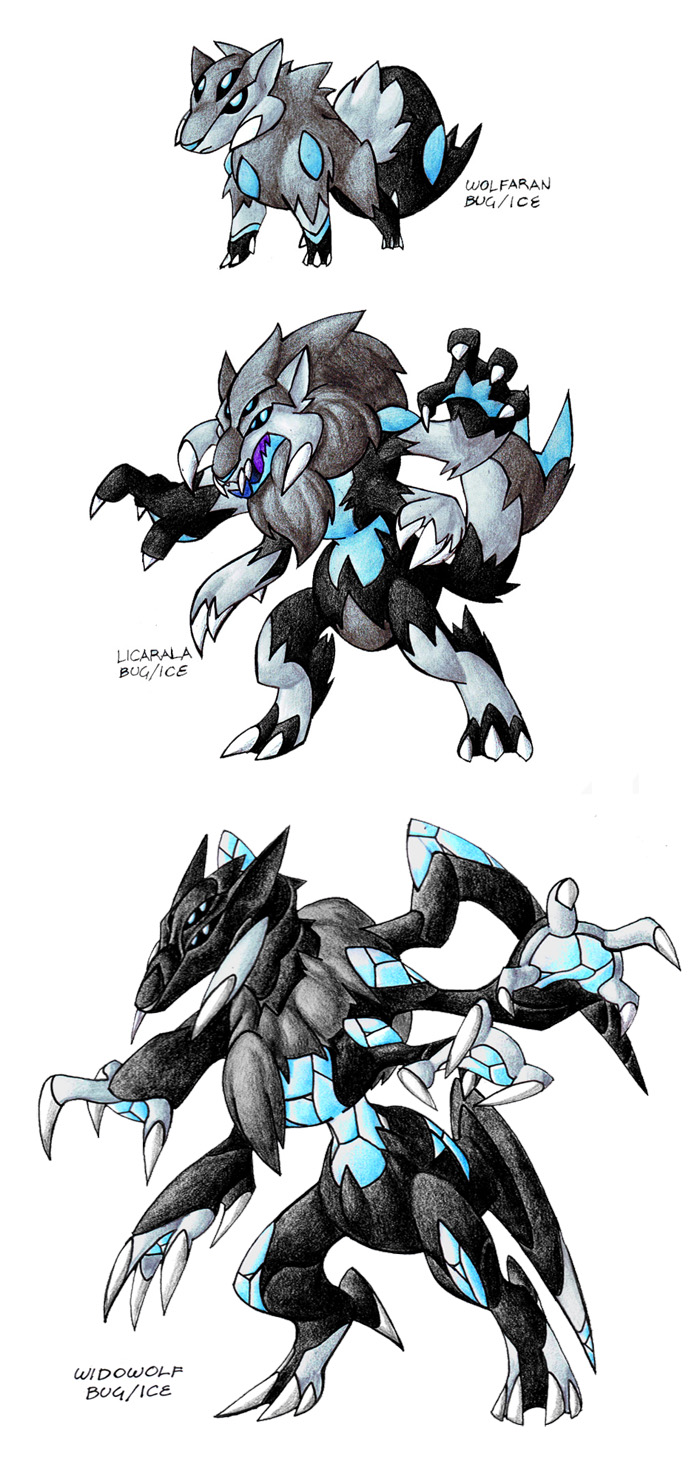 Isty Bitzy Wolfing V.2.0 by Darksilvania