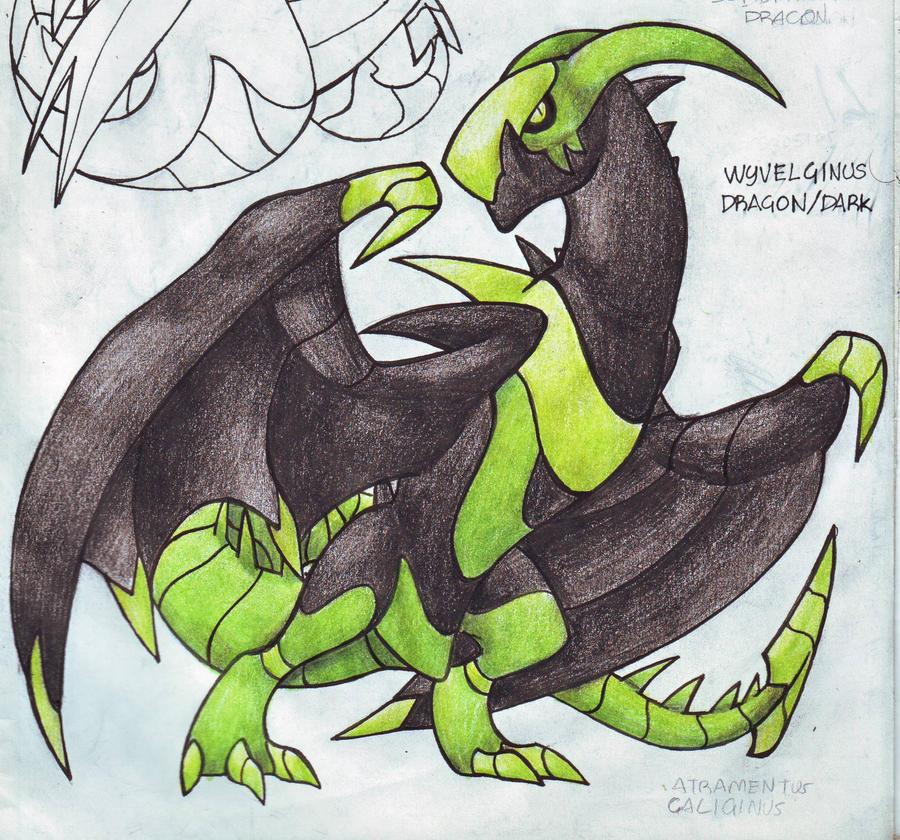 Dragon WIP by darksilvania