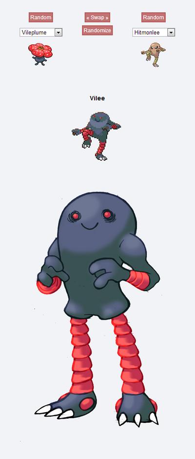 Pokemon Fusion Sprite - VILEE by darksilvania