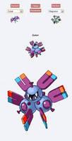 Pokemon Fusion Sprite - ZUTON