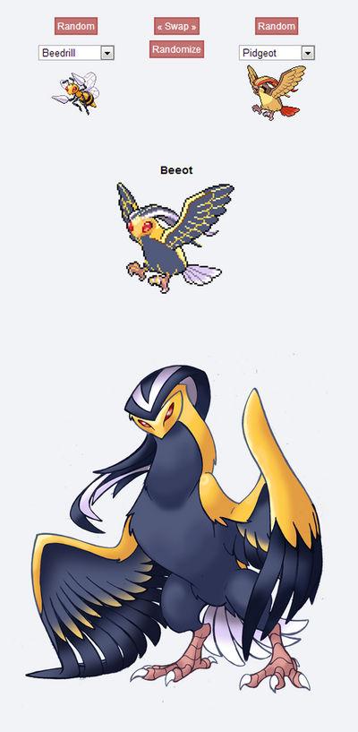 Pokemon Fusion Sprite - BEEOT