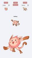 Pokemon Fusion Sprite - CLEFKEY