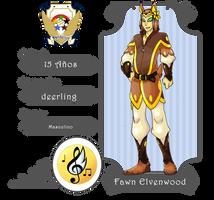 Dandelion Academy- Fawn Elvenwood by Darksilvania