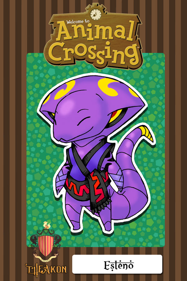 Aninal Crossing meme-Esteno [Winstone] by darksilvania