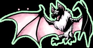 Drawlloween 2014, day 7- Bat by Darksilvania